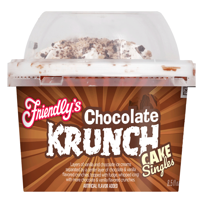 Chocolate Krunch Cake Singles