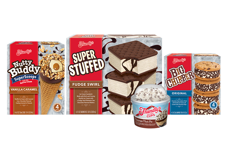 New ice cream products