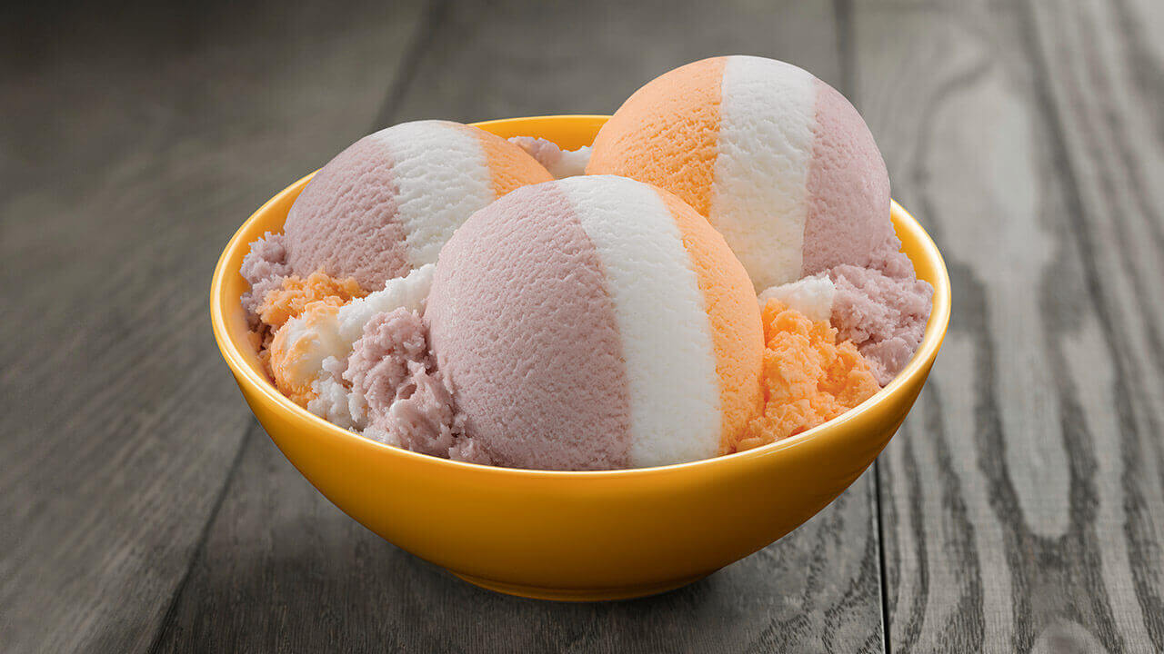 Raspberry – Orange – Lemon – Sherbet