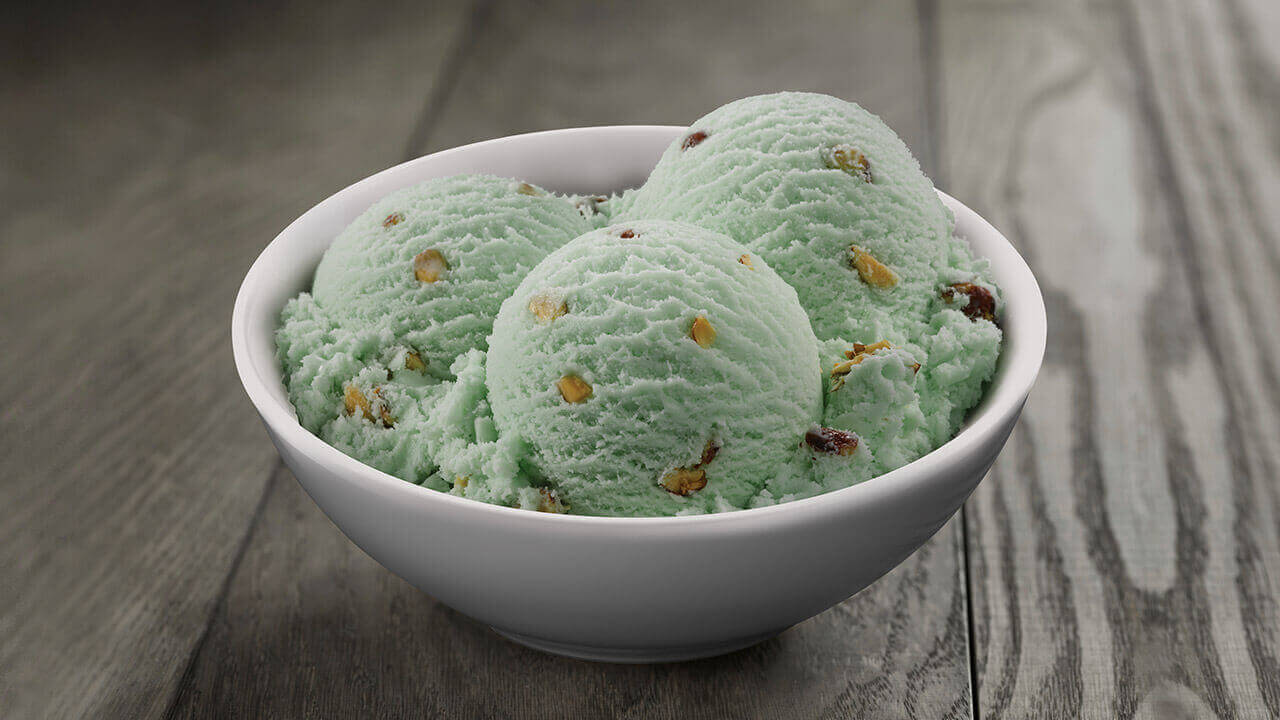 Purely Pistachio · Friendly's