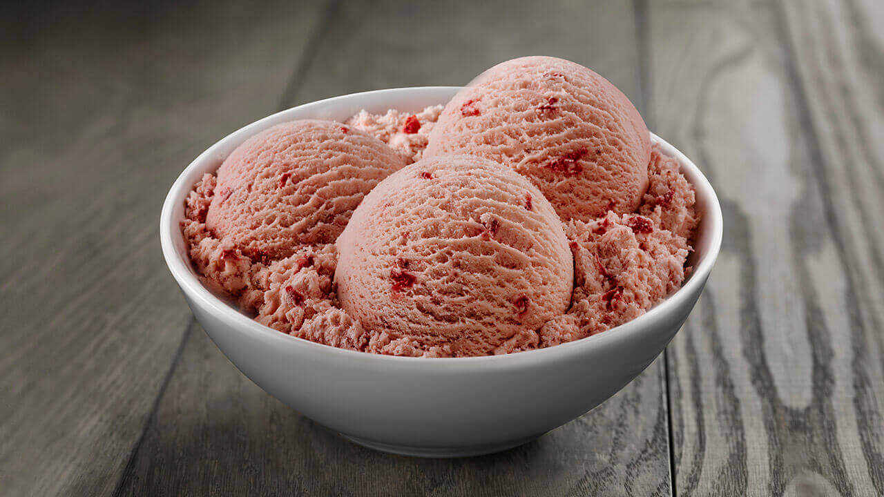 Image result for strawberry ice cream