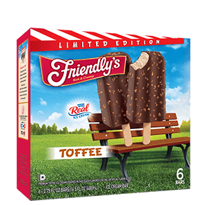 Toffee Ice Cream Bar packaging