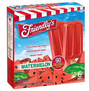 Watermelon Fruit Bar packaging