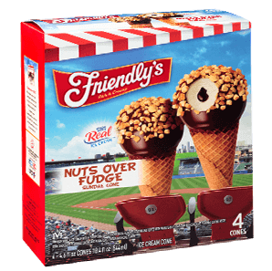 Nuts Over Fudge Sundae Cone packaging
