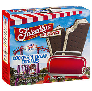 Friendwich – Cookies 'n Cream Dreams packaging