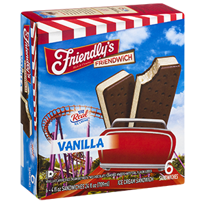 Vanilla Friendwich packaging