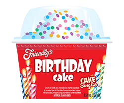 Birthday Cake Cake Singles packaging