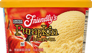 Pumpkin Ice Cream packaging