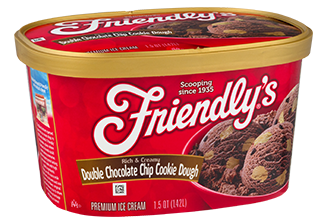 Double Chocolate Chip Cookie Dough packaging