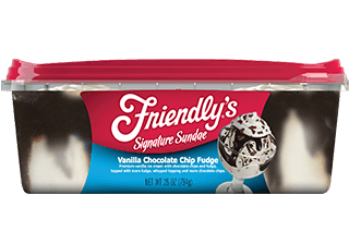 Vanilla Chocolate Chip Fudge packaging