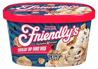 SundaeXtreme(R) Chocolate Chip Cookie Dough packaging