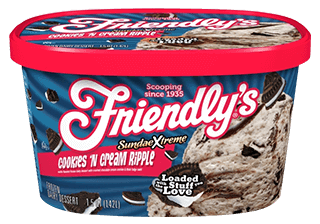 SundaeXtreme(R) Cookies 'n Cream Ripple packaging
