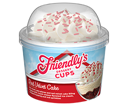 Red Velvet Cake Dessert Cup packaging