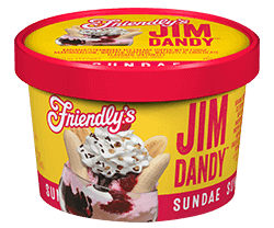 Jim Dandy Sundae Cup packaging