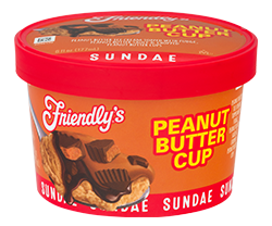 Peanut Butter Cup Sundae packaging