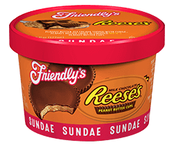 Reese's Peanut Butter Cup Sundae packaging