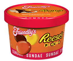Reese's(R) Pieces Sundae Cup packaging