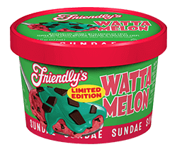 Wattamelon Sundae Cup packaging