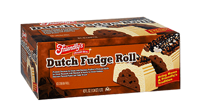 Dutch Fudge(R) Roll packaging