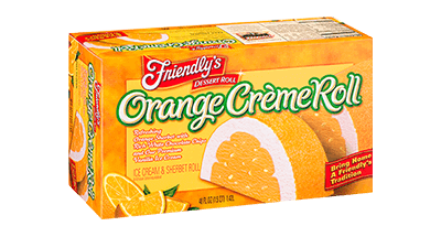 Orange Creme Roll(R) packaging