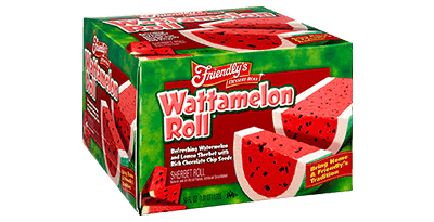 Wattamelon Roll(R) packaging