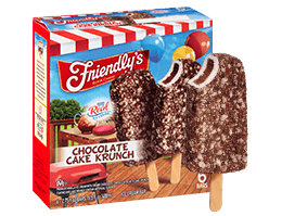 Chocolate Cake Krunch Ice Cream Bar