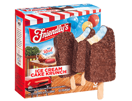 Ice Cream Cake Krunch Ice Cream Bar