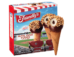 Nuts Over Fudge Sundae Cone