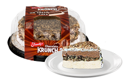 Chocolate Krunch Ice Cream Cake