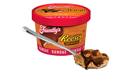 Reese's Peanut Butter Cup Sundae