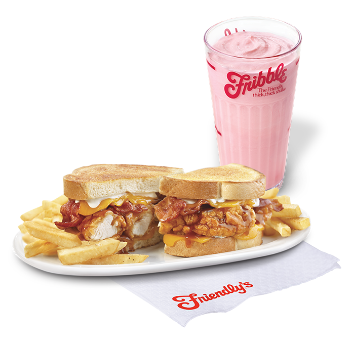 BBQ Supermelt and Strawberry Fribble