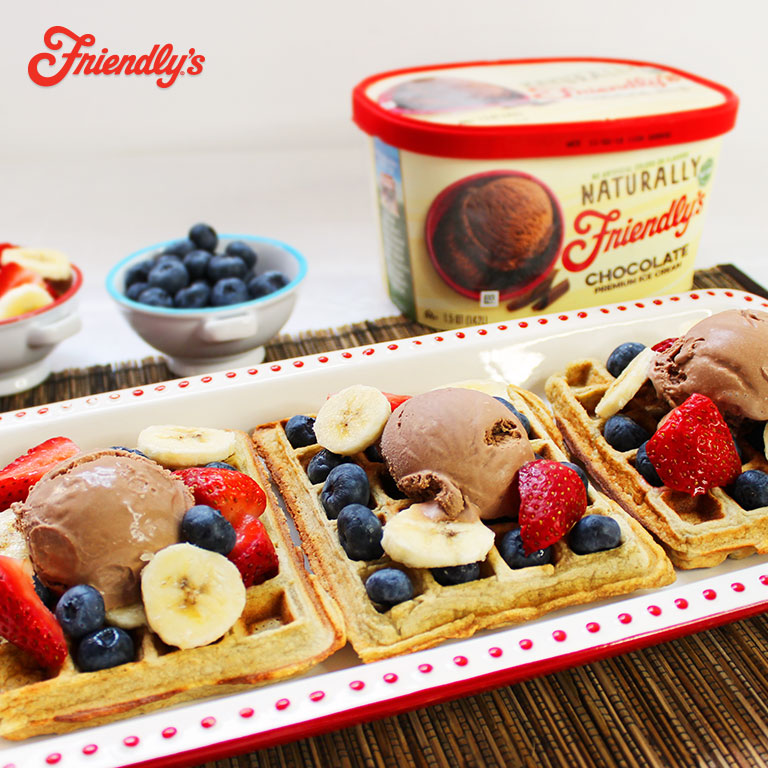 Naturally Friendly's® Ice Cream Waffles
