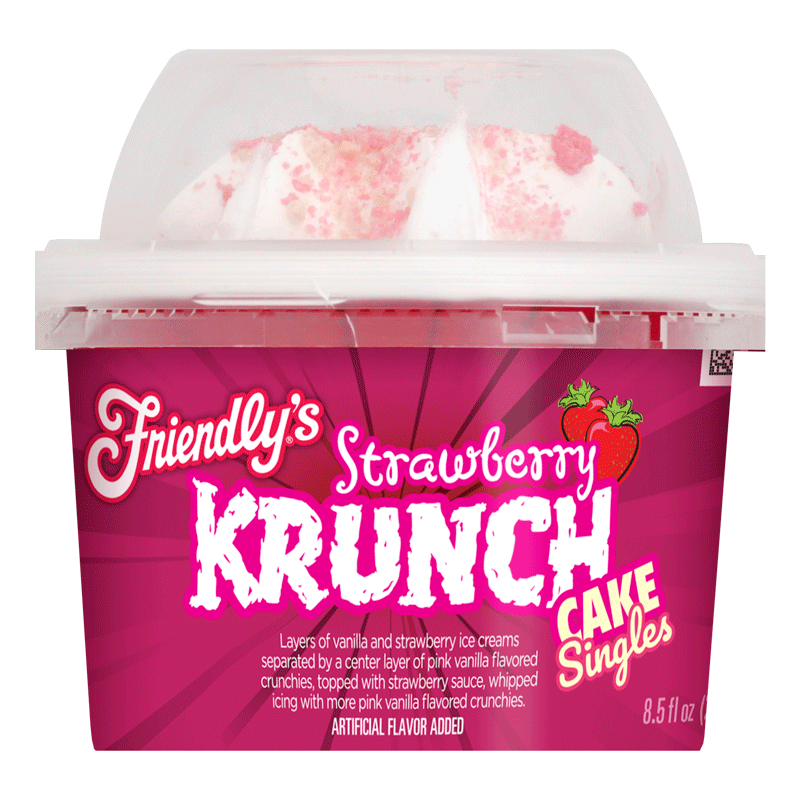 Strawberry Krunch Cake Singles