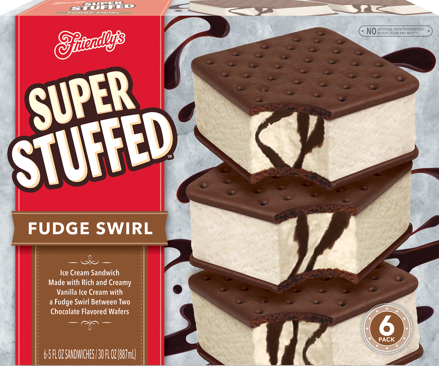 Fudge Swirl Super Stuffed