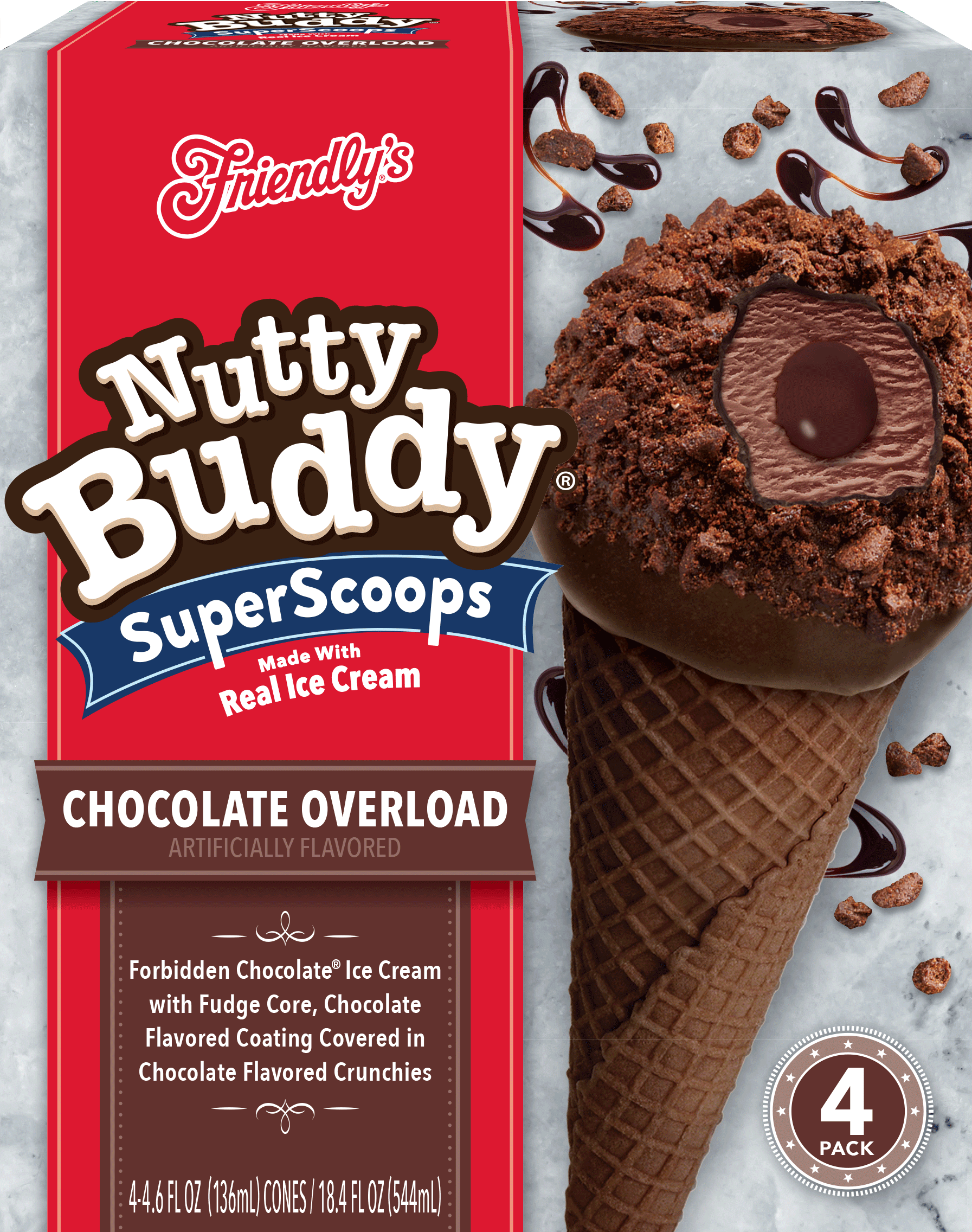 Chocolate Overload Nutty Buddy