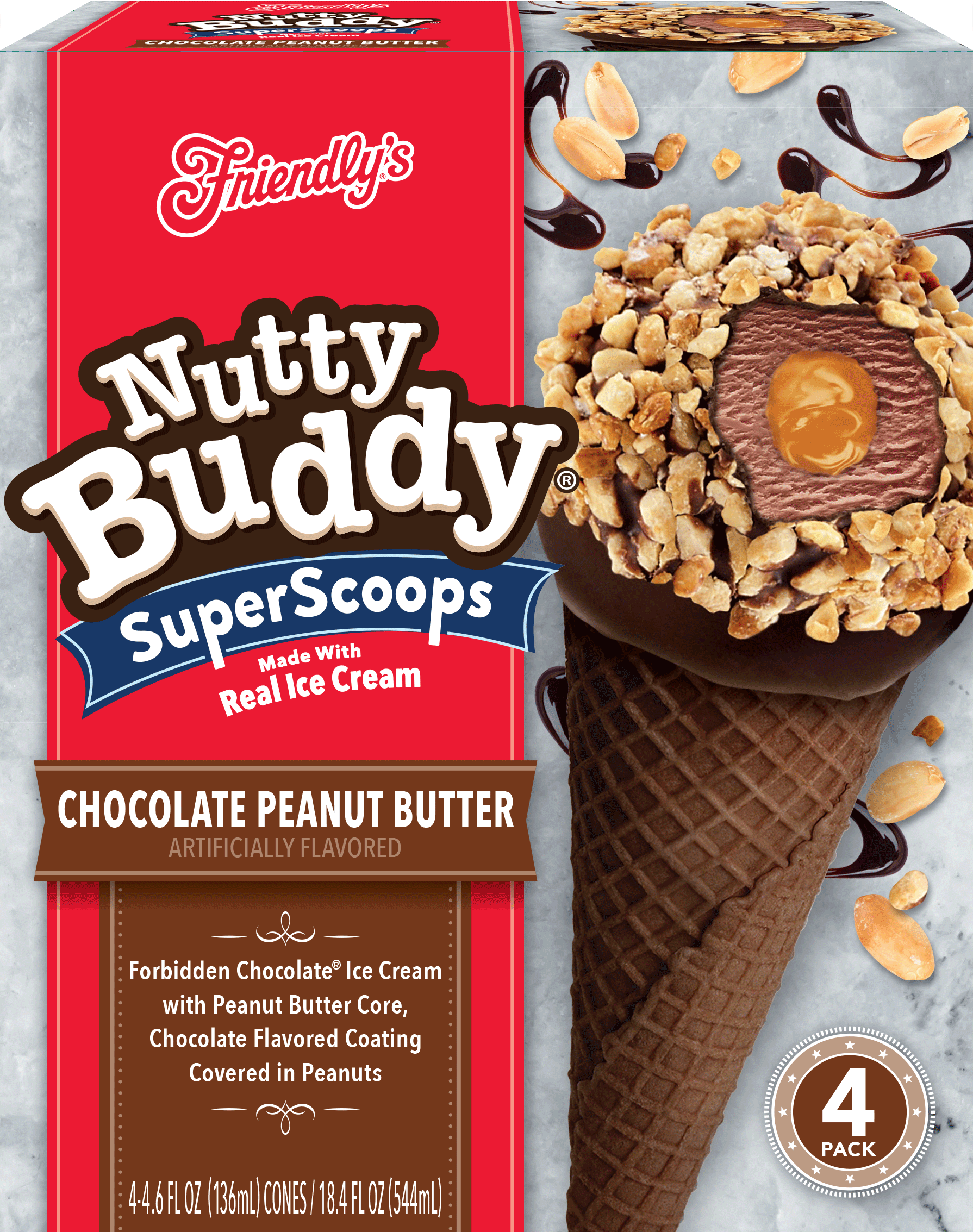 Chocolate Peanut Butter Nutty Buddy