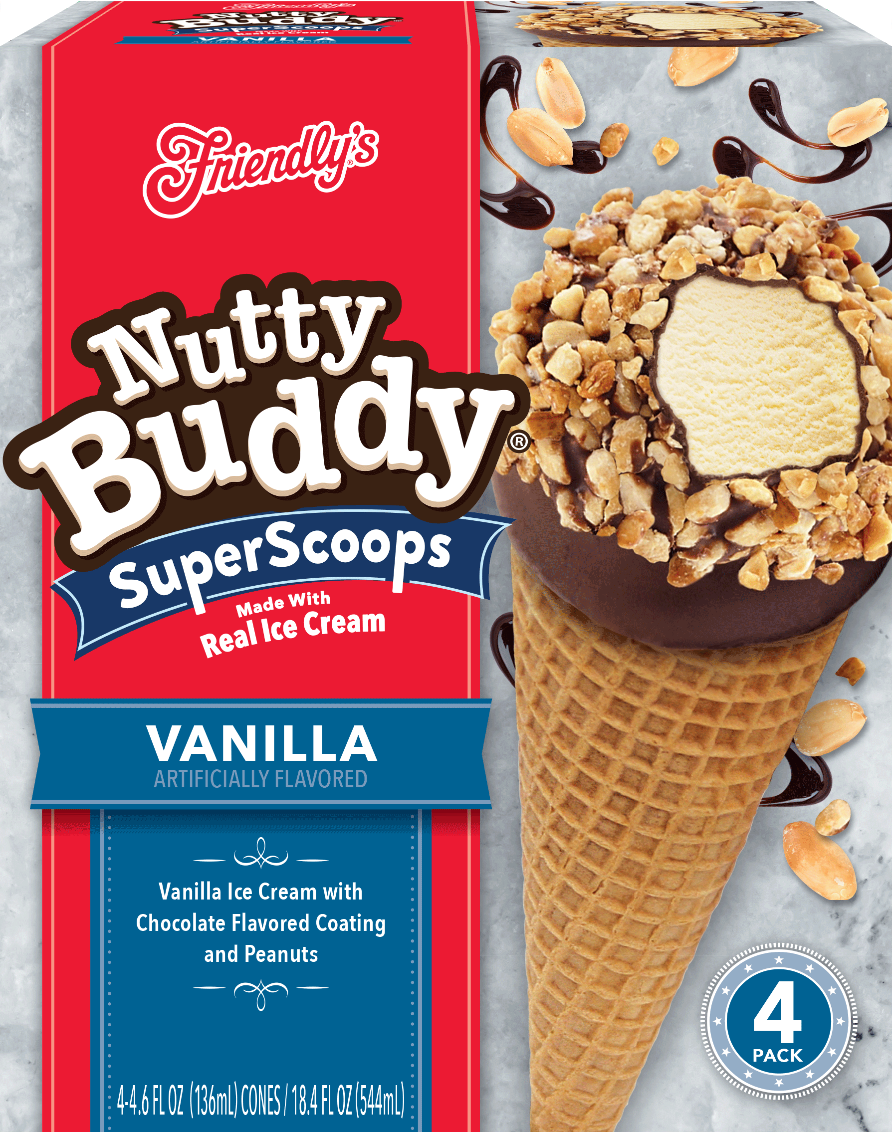Vanilla Nutty Buddy